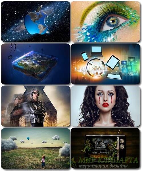 Сборник креативных обоев - Art картинки (часть 21)