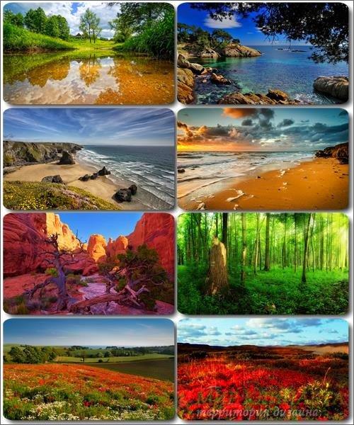 Обои Потрясающие пейзажи - Фото природы (альбом 24)