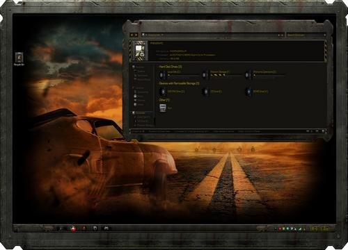 Mad Max Fury Road - Тема для Windows 7