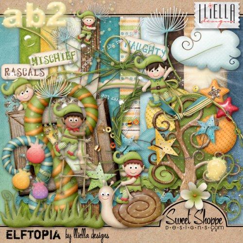 Детский скрап-набор Elftopia