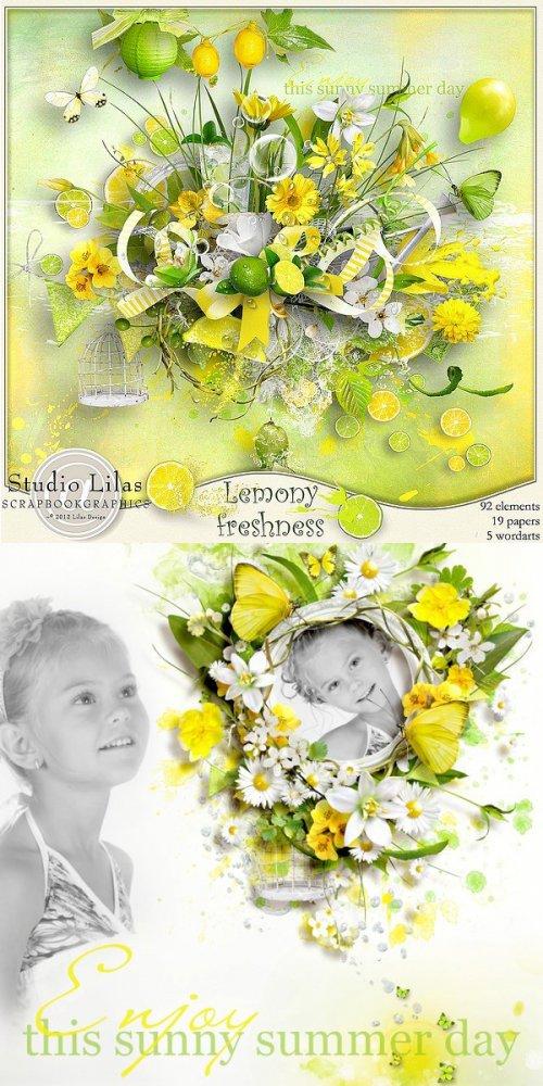 Скрап-набор Lemony freshness