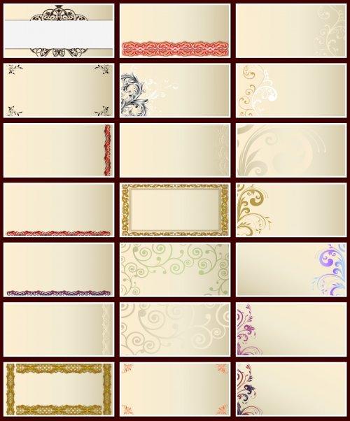 Фоны для визиток и творческих работ. 28 JPEG