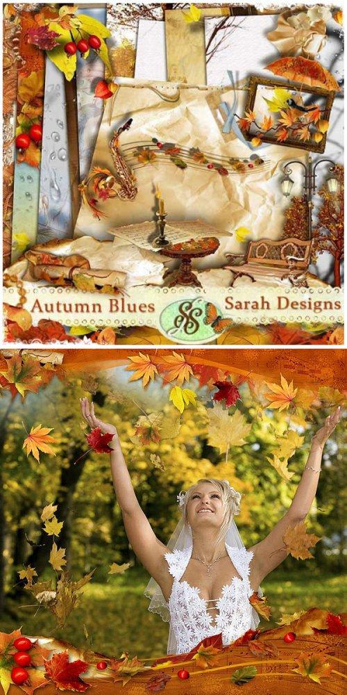 Скрап-набор Autumn blues