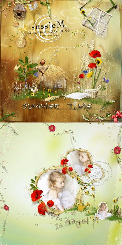 Скрап-набор Summer time