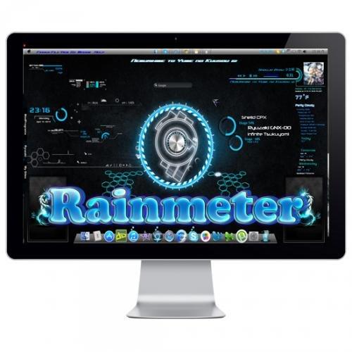 Rainmeter 3.2 Build 2313 Beta + Skins Pack (Multi/Rus)