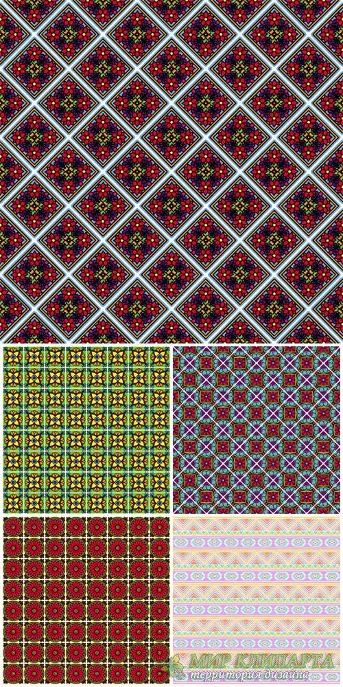 Цветочные векторные фоны / Floral vector background # 2