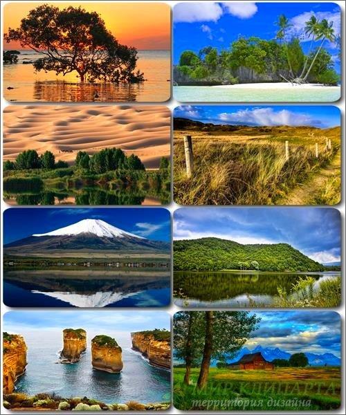 Живописные пейзажи - Обои с фото природы (альбом 26)