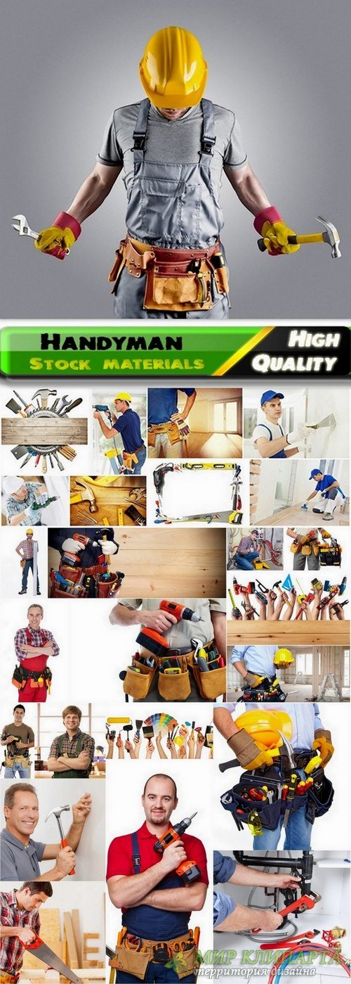 Handyman and different hand tools Stock Images - 25 HQ Jpg
