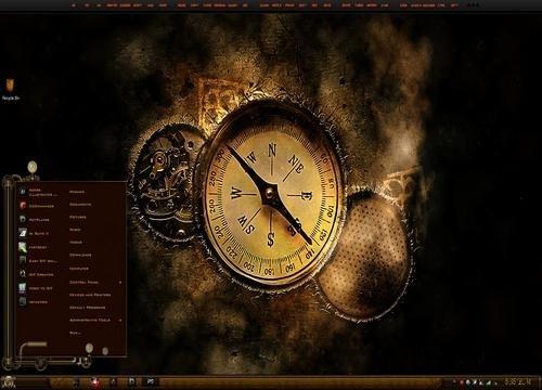 Steampunk - Тема для Windows 7