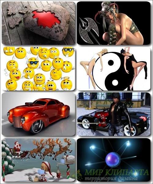 HD Обои и картинки - 3D Компьютерная графика (выпуск 18)
