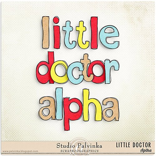 Скрап-набор - Little Doctor