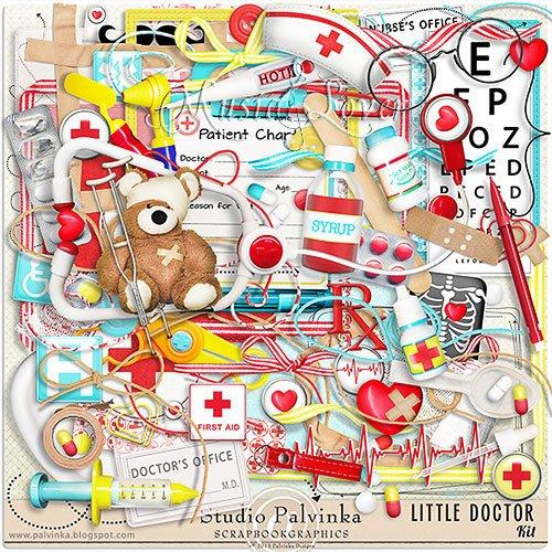 Скрап-набор - Little Doctor