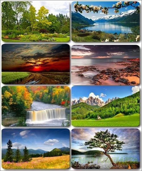 Обои Потрясающие пейзажи - Фото природы (альбом 25)