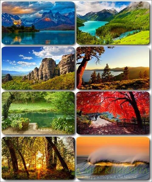 Живописные пейзажи - Обои с фото природы (альбом 27)