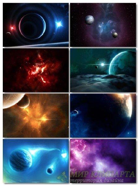 Картинки, фото космоса сборник для рабочего стола обои выпуск 70