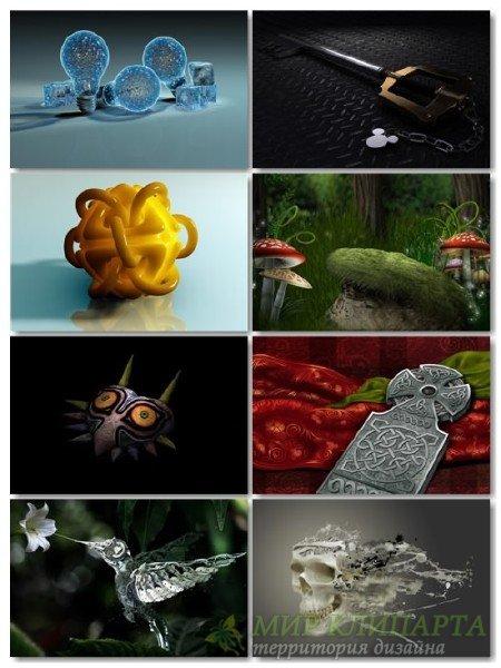 Подборка на рабочий стол 3D графики в картинках выпуск 24