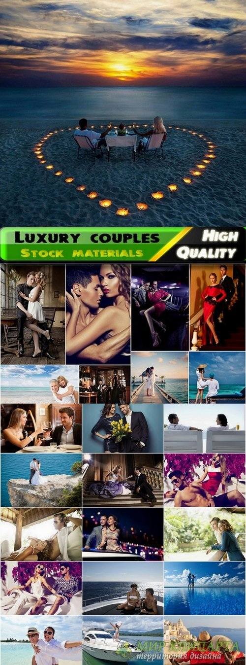 Luxury couples and people in love Stock images - 25 HQ jpg