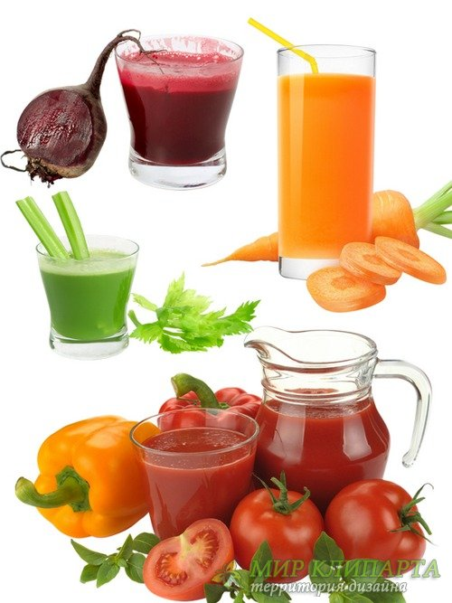 Натуральные соки: Томатный, морковный, свекольный (подборка изображений)
