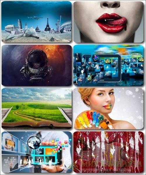 Сборник креативных обоев - Art картинки (часть 22)