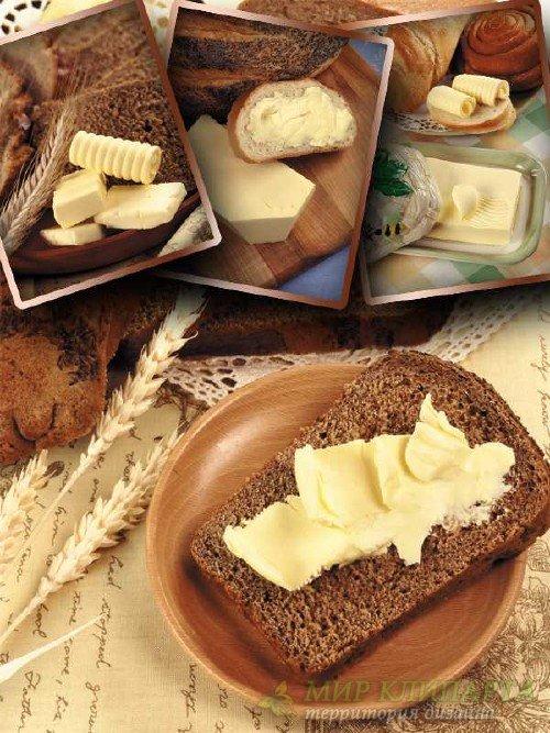 Хлеб с маслом (подборка изображений)