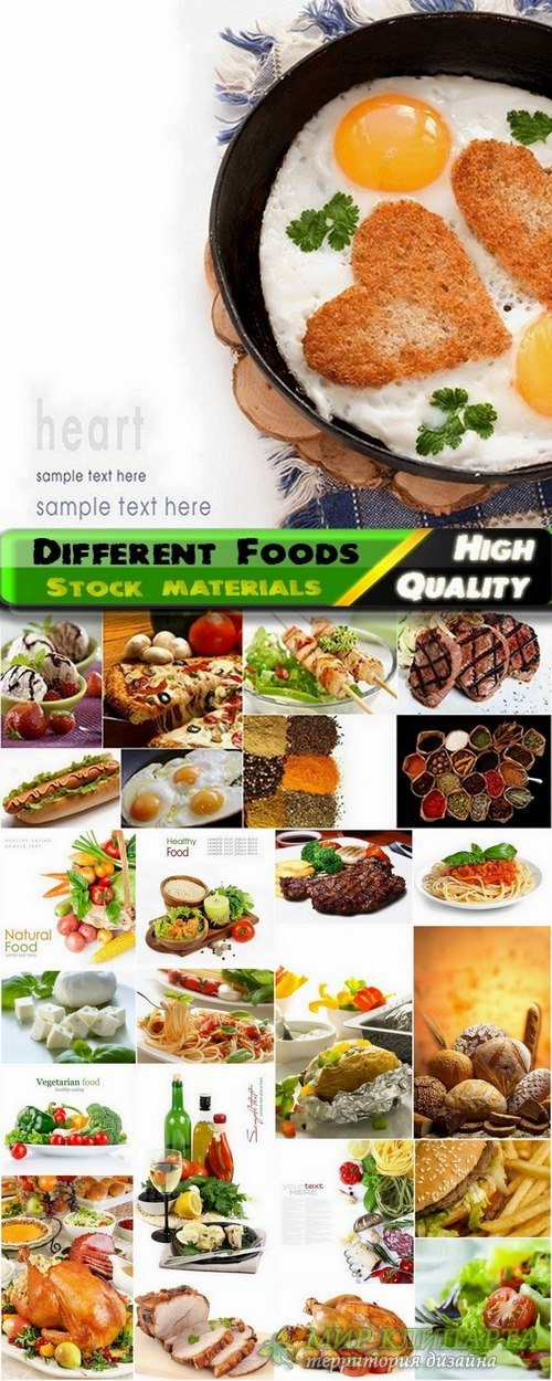 Different tasty foods Stock images - 25 HQ Jpg