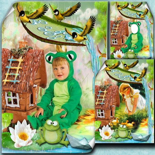 Детская фоторамка - Моё лесное царство