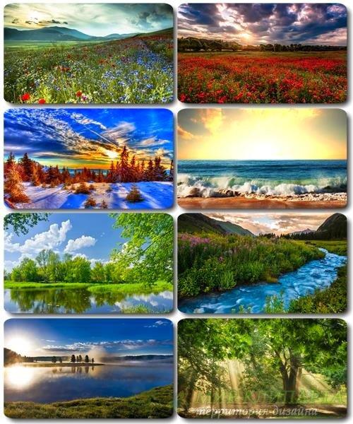 Обои Потрясающие пейзажи - Фото природы (альбом 27)