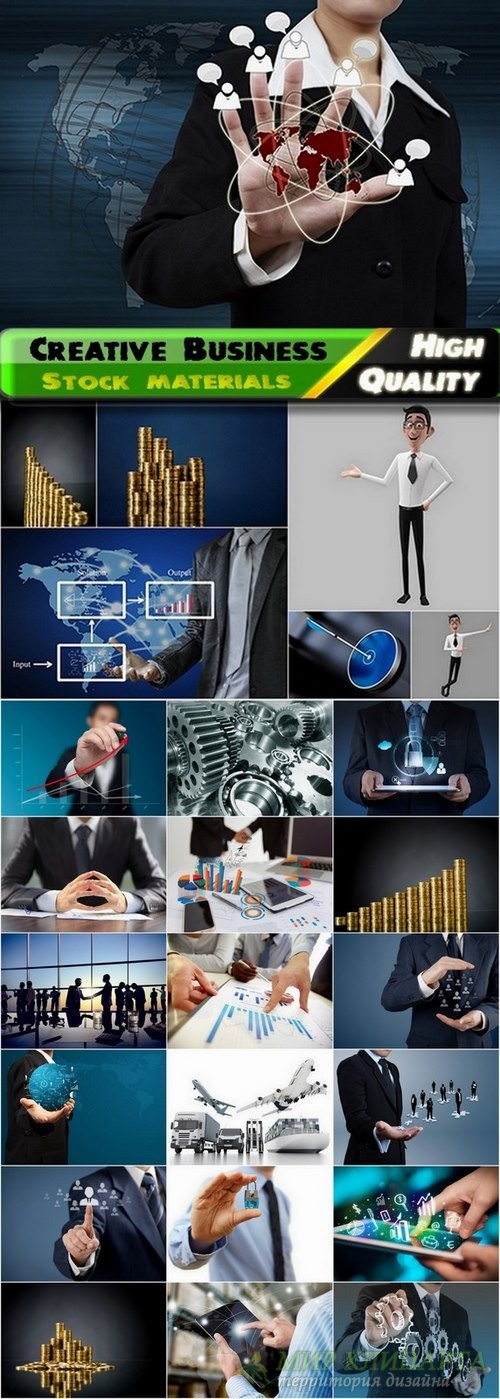 Business Creative Ideas Collection from stock - 25 HQ Jpg