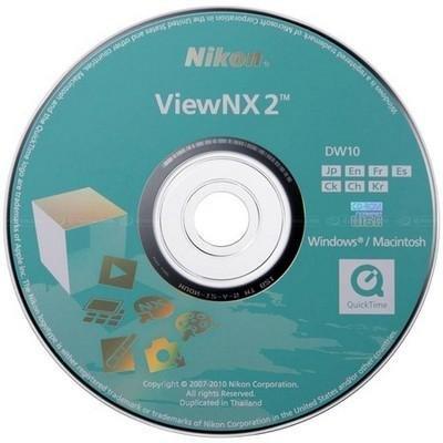 Nikon ViewNX 2.10.1 (x32/x64)