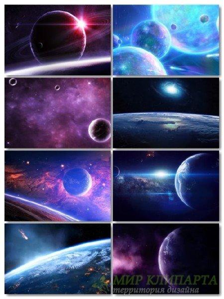 Картинки, фото космоса сборник для рабочего стола обои выпуск 71