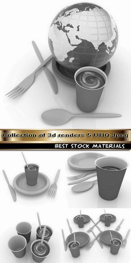 Collection of 3d renders 5 UHQ Jpeg