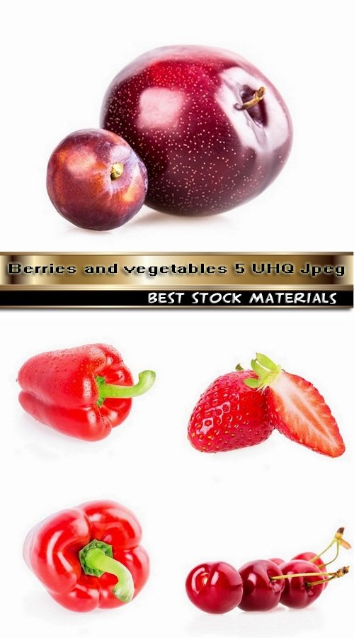 Berries and vegetables 5 UHQ Jpeg