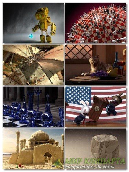 Подборка на рабочий стол 3D графики в картинках выпуск 25