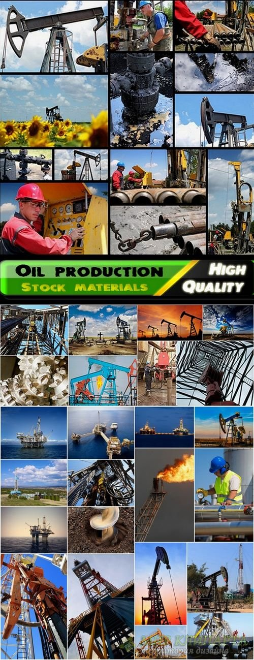 Oil production and drilling Stock images - 25 HQ jpg
