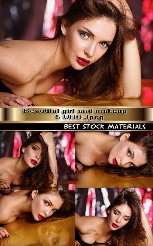 Beautiful girl and make-up 5 UHQ Jpeg