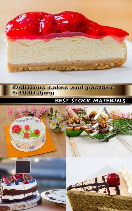 Delicious cakes and pastries 5 UHQ Jpeg