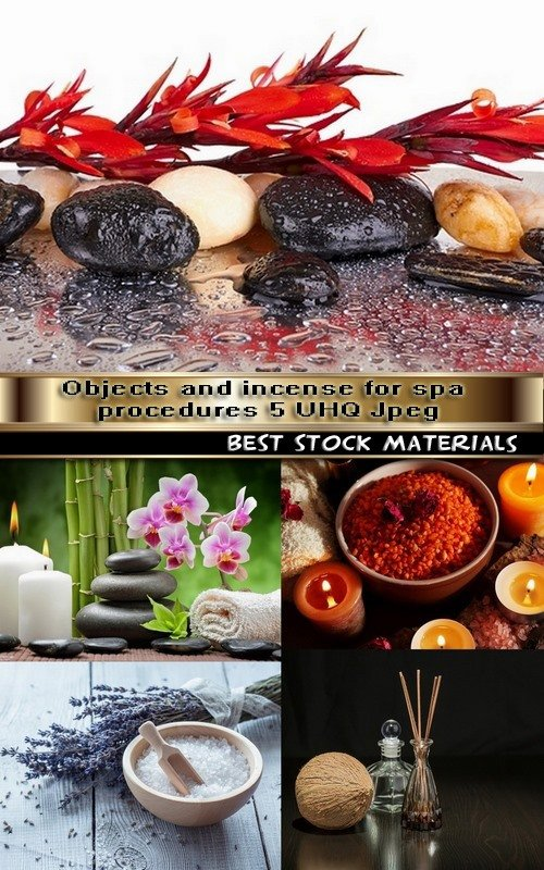 Objects and incense for spa procedures 5 UHQ Jpeg