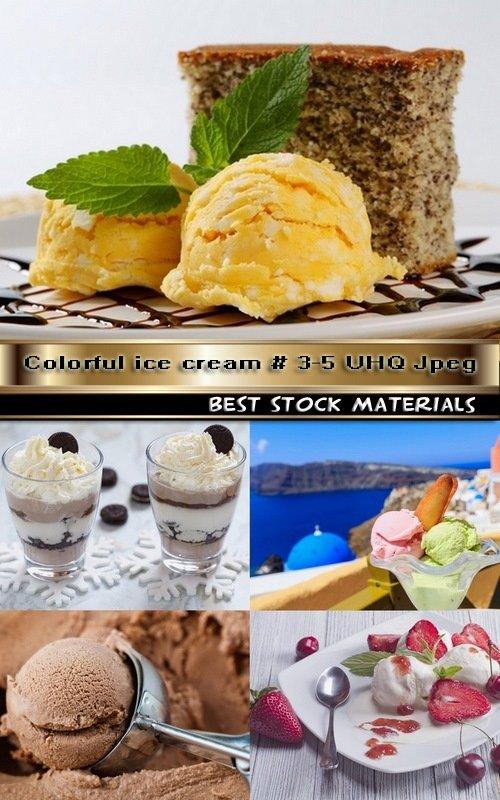 Colorful ice cream # 3-5 UHQ Jpeg