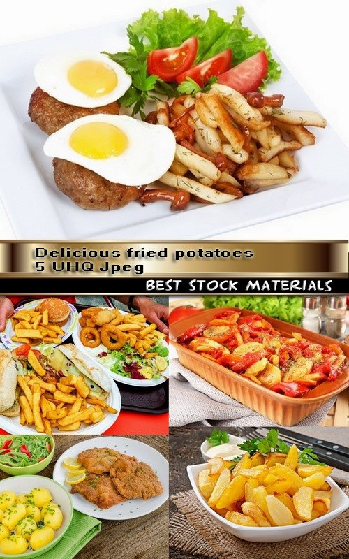 Delicious fried potatoes 5 UHQ Jpeg