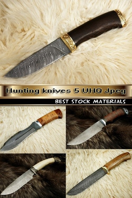 Hunting knives 5 UHQ Jpeg