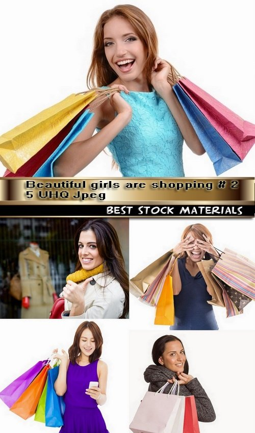 Beautiful girls are shopping # 2-5 UHQ Jpeg
