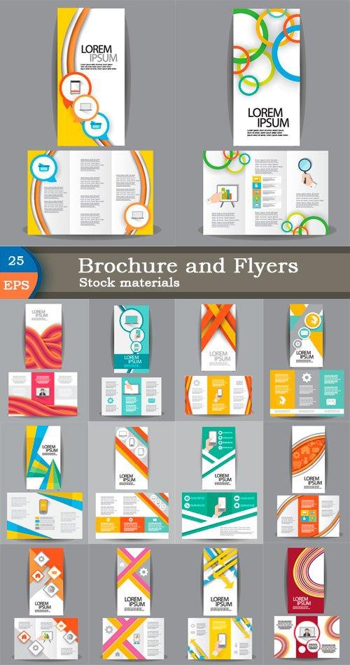 Брошюры и флаеры для дизайна