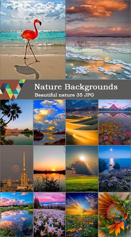 Пейзажные фоны для рамок и открыток 8