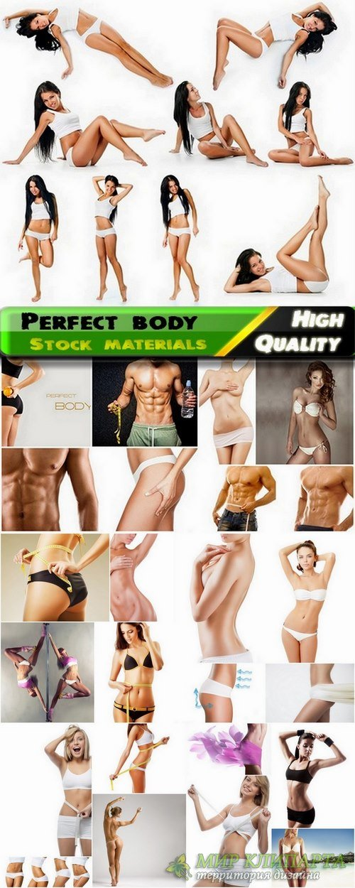 Perfect body and fitness concept Stock images - 25 HQ Jpg