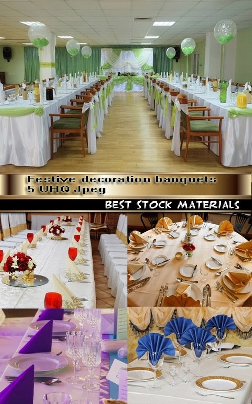 Festive decoration banquets 5 UHQ Jpeg