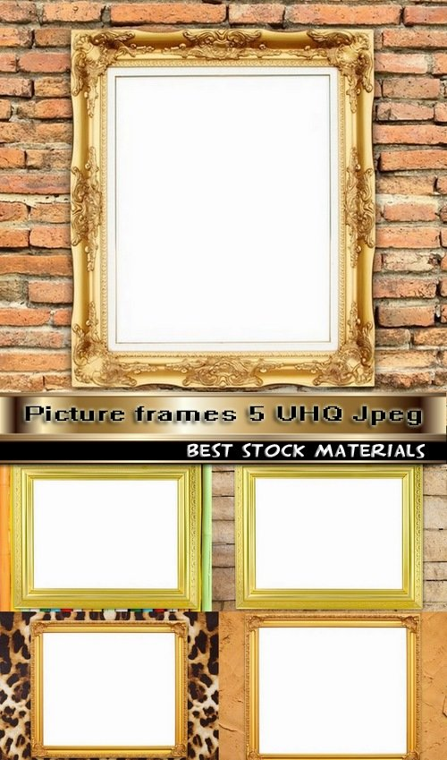 Picture frames 5 UHQ Jpeg