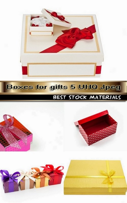 Boxes for gifts 5 UHQ Jpeg