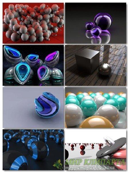Подборка на рабочий стол 3D графики в картинках выпуск 26