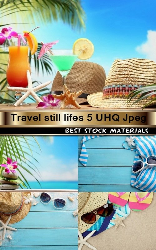 Travel still lifes 5 UHQ Jpeg