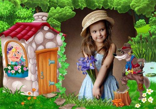 Рамка детская  - Старая английская сказка